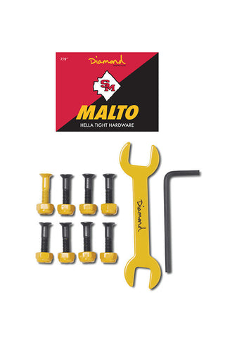 "BOLTS DIAMOND SUPPLY MALTO 7/8"" GOLD"