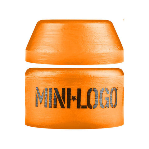 BUSHINGS MINI LOGO MEDIUM 94A ORANGE SINGLE SET