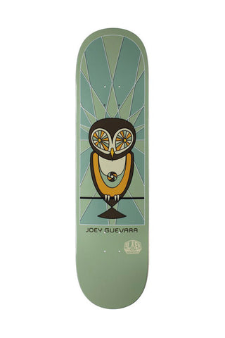 DECK ALIEN WORKSHOP OWL GUEVARA 8.25