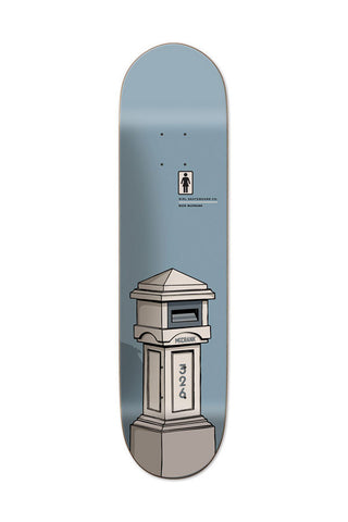 DECK GIRL LETTERBOX MCCRANK 8.25