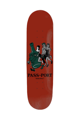 DECK PASS PORT ADDICTIONS BOOZE 8.5