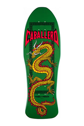 DECK POWELL CABALLERO CHINESE DRAGON GREEN