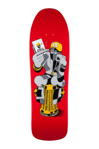 DECK POWELL-PERALTA RAY BARBEE HYDRANT RED