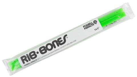 DECK RAILS POWELL RIB BONES 14.5 LIME GREEN