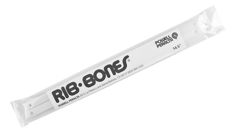DECK RAILS POWELL RIB BONES 14.5 WHITE
