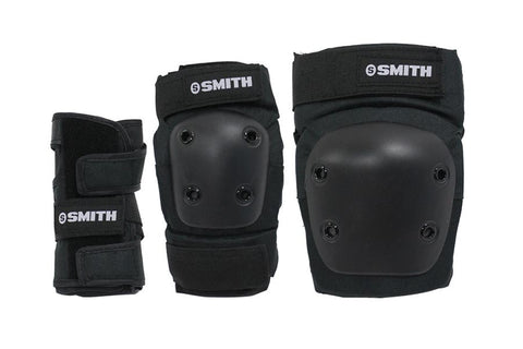 GUARDS 3-PACK SMITH BLACK YOUTH