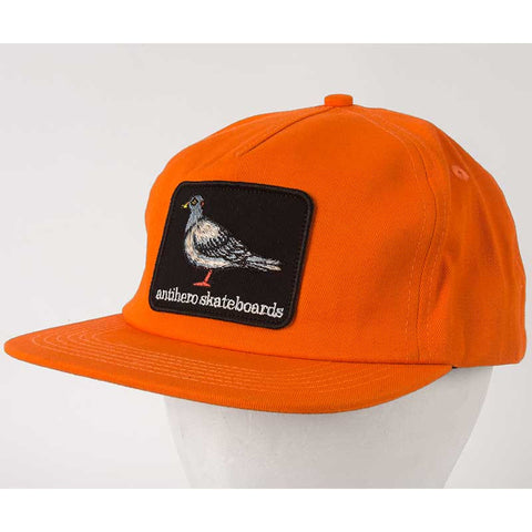 HAT ANTI HERO PIGEON PATCH ORANGE