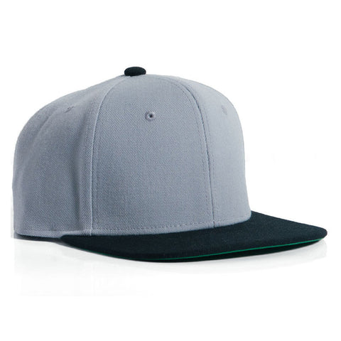 HAT AS CLIP SNAP 2-TONE LIGHT GRY/BLK