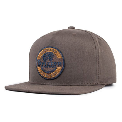 HAT BRIXTON SOTO SNAP CHOCOLATE