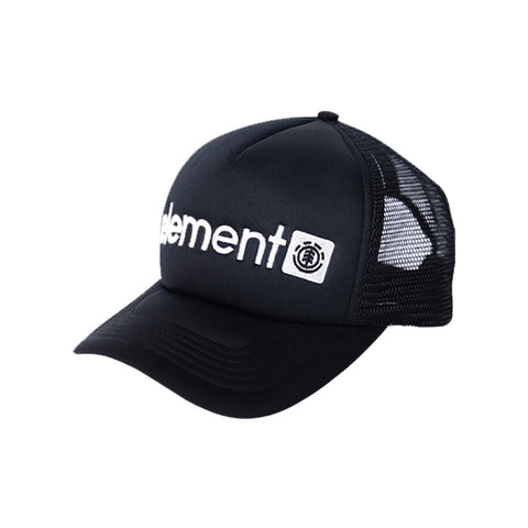 HAT ELEMENT HORIZONTAL MESH FLINT BLACK - side
