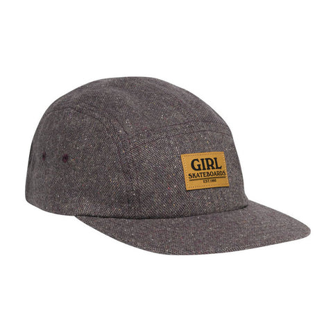 HAT GIRL BROADWAY CAMPER DEEP PURPLE