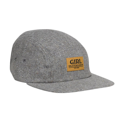 HAT GIRL BROADWAY CAMPER STONE GRY