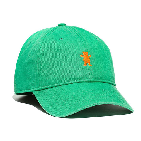 HAT GRIZZLY DAD BEAR LOGO GREEN
