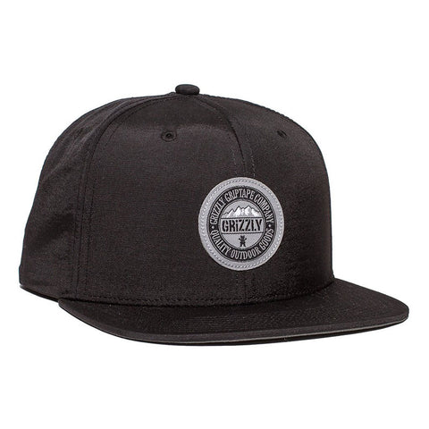 HAT GRIZZLY RANGE BLACK