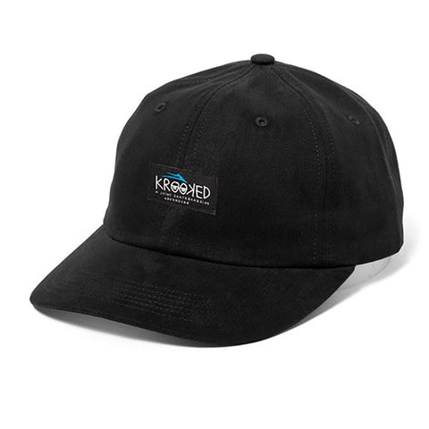 HAT LAKAI KROOKED DAD BLACK