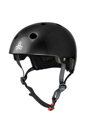 HELMET BRAINSAVER CERTIFIED BLACK GLOSS