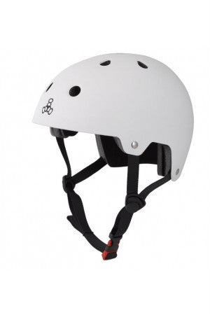 HELMET BRAINSAVER CERTIFIED RUBBER WHITE