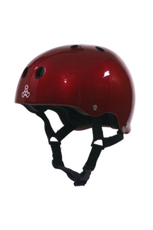 HELMET BRAINSAVER SSAVR METALLIC RED