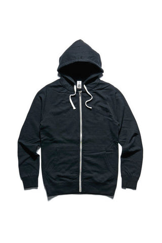 HOOD AS TRACTION ZIP BLACK