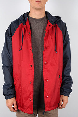 JACKET OBEY TRADER RED NVY