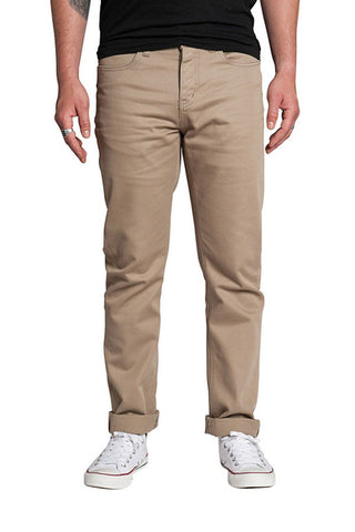 JEANS KREW K SLIM 5 POCKET DARK KHAKI