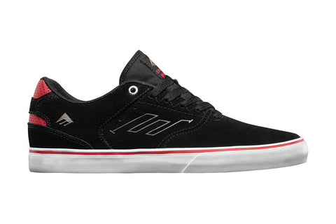 SHOES EMERICA REYNOLDS LOW VULC BLK/WHT/RED