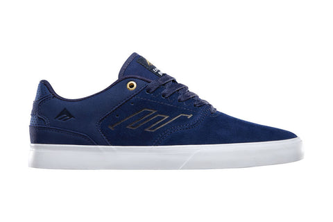 SHOES EMERICA REYNOLDS LOW VULC NAVY/WHT/GOLD