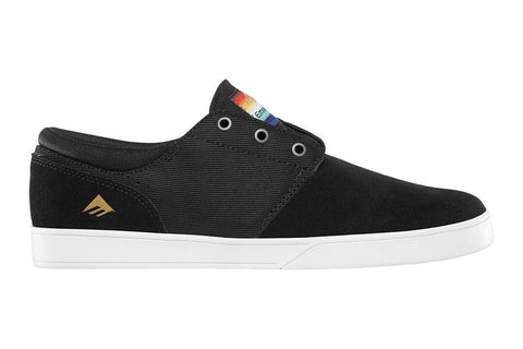 SHOES EMERICA THE FIGGY BLK/WHT/WHT