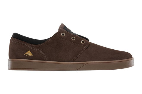 SHOES EMERICA THE FIGGY BROWN/GUM/GOLD