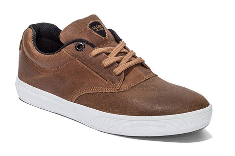 SHOES GLOBE THE EAGLE TOFFEE/WHITE