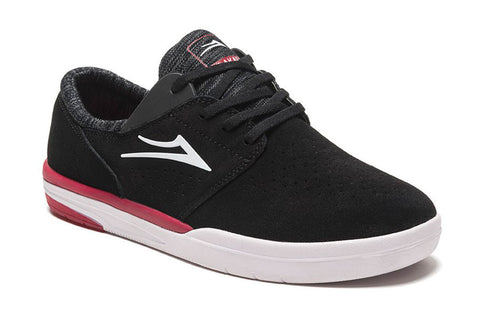 SHOES LAKAI FREMONT FA17 BLK SUEDE/RED