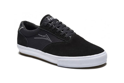 SHOES LAKAI GUYMAR BLACK/WHITE/SUEDE