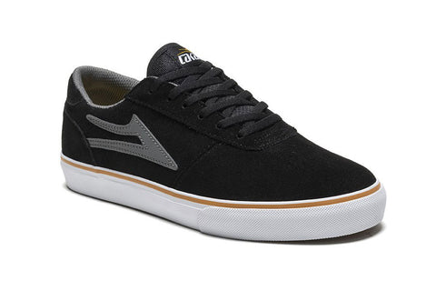 SHOES LAKAI MANCHESTER HOL16 BLK/GRY