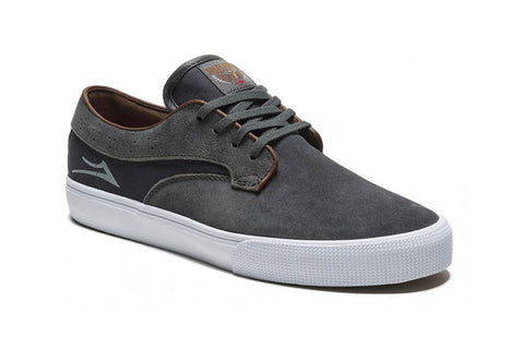 SHOES LAKAI RILEY HAWK CHARCOAL