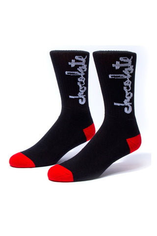 SOCKS CHOCOLATE CHUNK BLACK