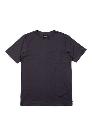 TSHIRT BRIXTON POGUE POCKET KNIT BLACK