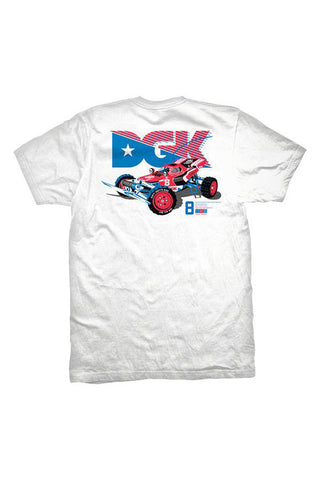 TSHIRT DGK HOPPER WHITE BACK