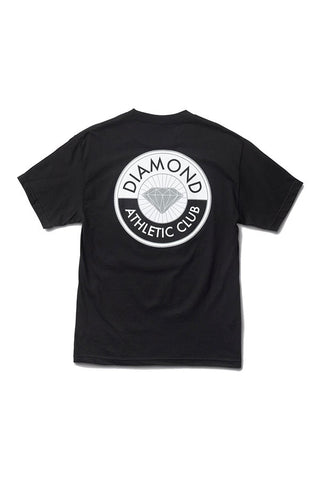 TSHIRT DIAMOND ATHLETIC CLUB BLACK