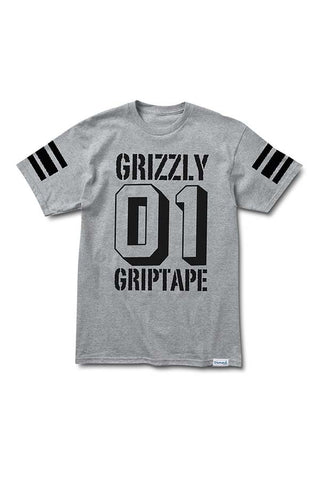 TSHIRT GRIZZLY BOWL HEATHER