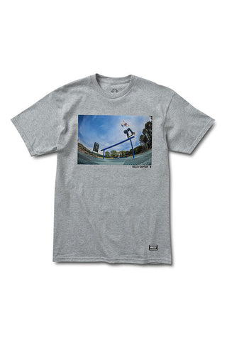 TSHIRT GRIZZLY TOREY SCHOOLYARD HEATHER