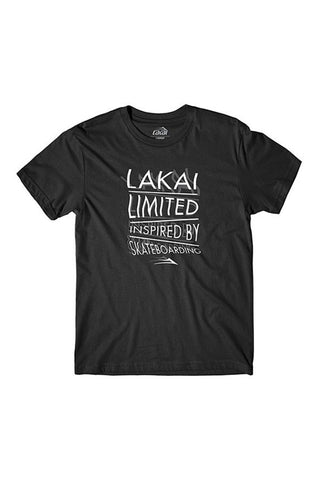 TSHIRT LAKAI TWIST BLACK