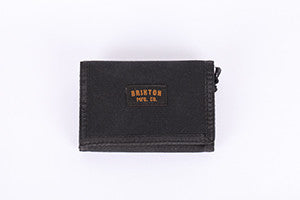 WALLET BRIXTON DRAFT CANVAS BLK