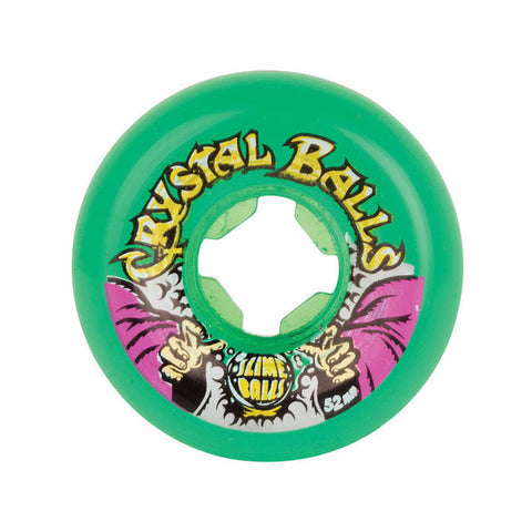 WHEELS SANTA CRUZ CRYSTAL BALLS 81B GREEN