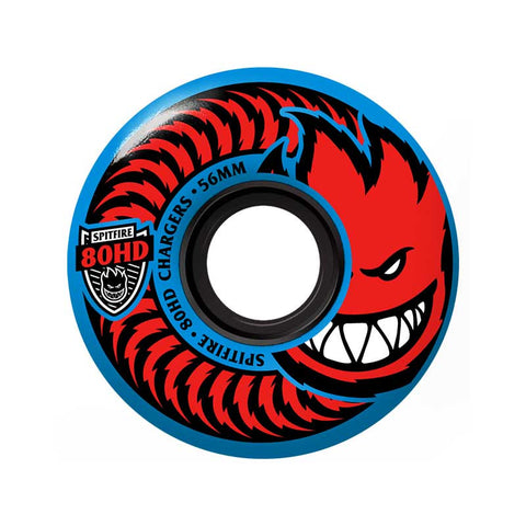 WHEELS SPITFIRE 80HD CLASSIC CHARGERS BLUE 58MM