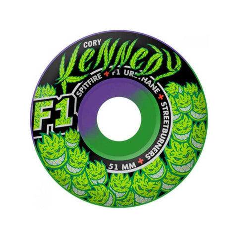 WHEELS SPITFIRE F1 SB KENNEDY TRUNK KUSH 52MM