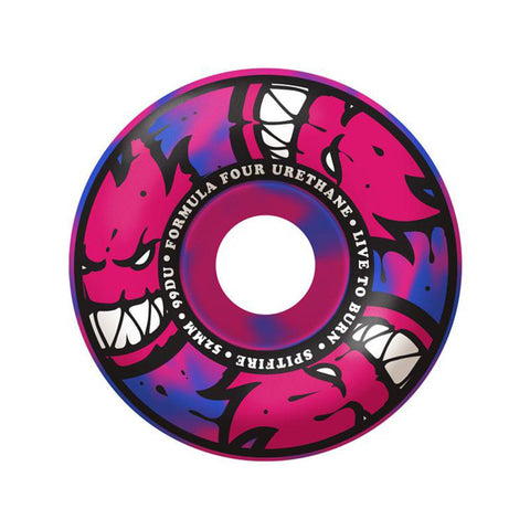 WHEELS SPITFIRE F4 99D AFTERBURNER BLK/PNK 52MM