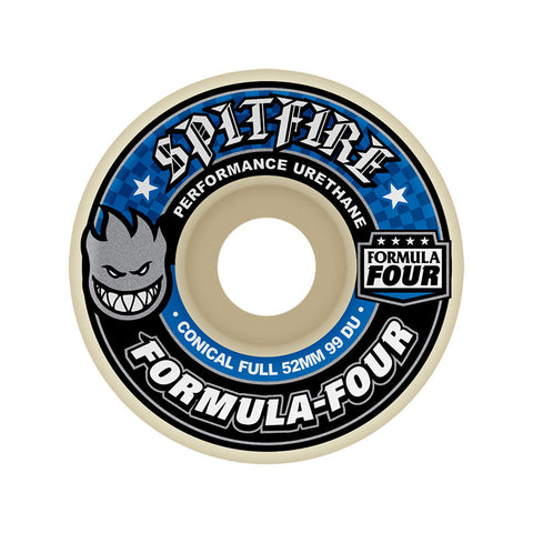 WHEELS SPITFIRE F4 99D CONICAL FULL 52MM