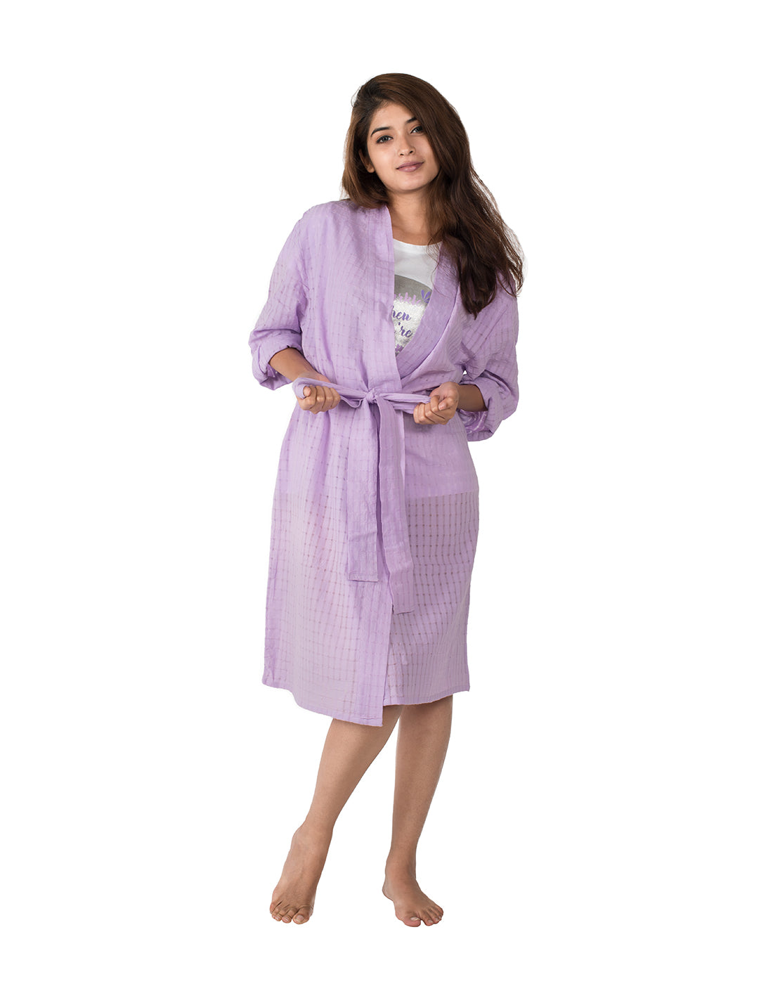 Lilac Love Bath Robe