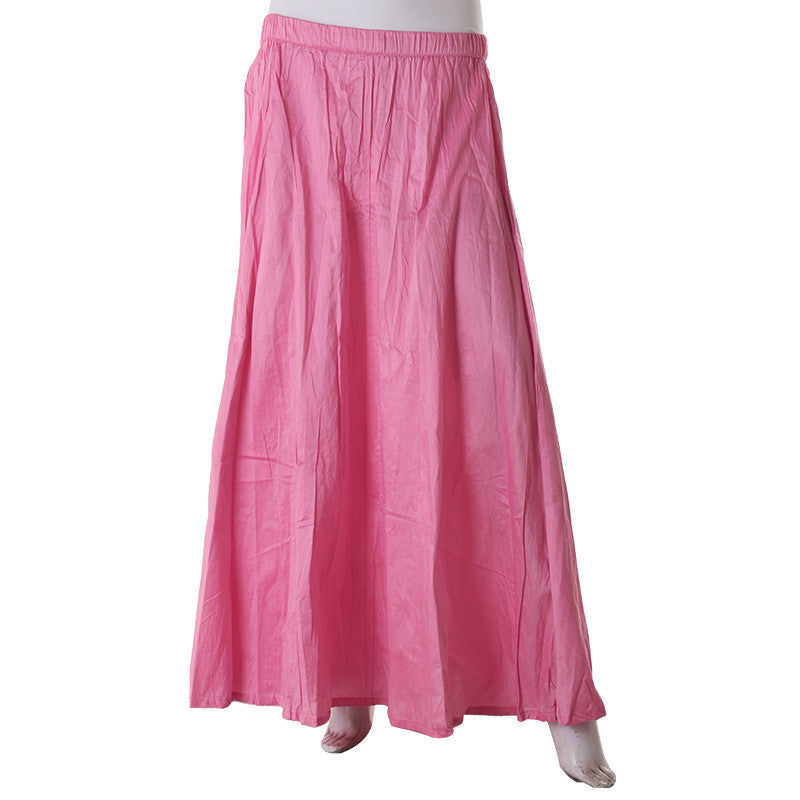 Morning Glory Poly Cotton A-Line Skirt From eSTYLe .