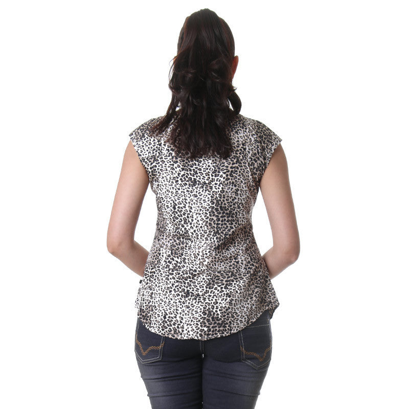 Cheetah Print Royal Fashion Top From eSTYLe